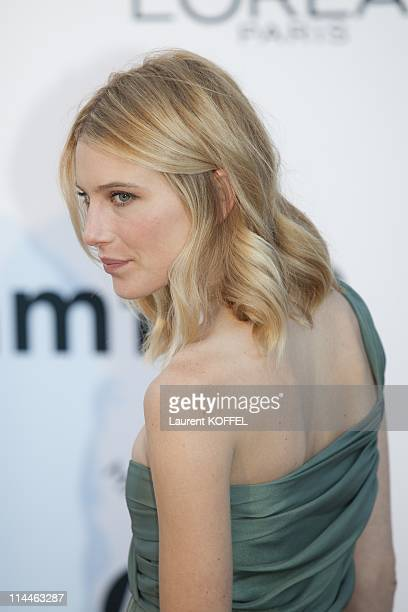 Dree Hemingway attends amfAR's Cinema Against AIDS Gala during the 64th Annual Cannes Film Festival at Hotel Du Cap on May 19 2011 in Antibes France