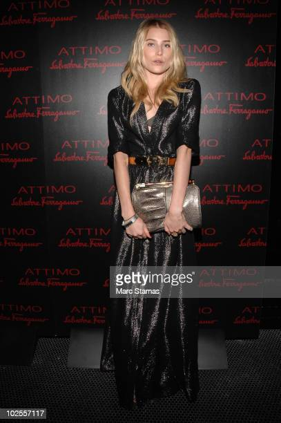 """Dree Hemingway attends Salvatore Ferragamo's """"Attimo"""" fragrance launch party at The Standard on June 30, 2010 in New York City."""