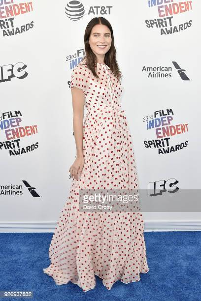 Dree Hemingway attends the 2018 Film Independent Spirit Awards Arrivals on March 3 2018 in Santa Monica California