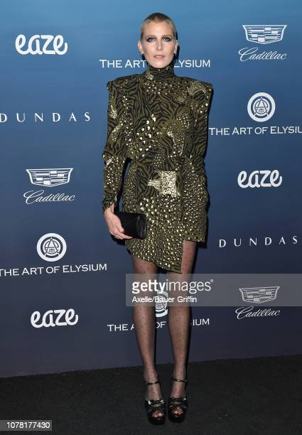 Dree Hemingway attends The Art of Elysium's 12th Annual Celebration Heaven on January 5 2019 in Los Angeles California