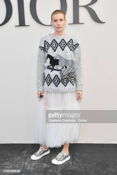 Dree Hemingway attends the Christian Dior show as part of the Paris Fashion Week Womenswear Spring/Summer 2019 on September 24 2018 in Paris France