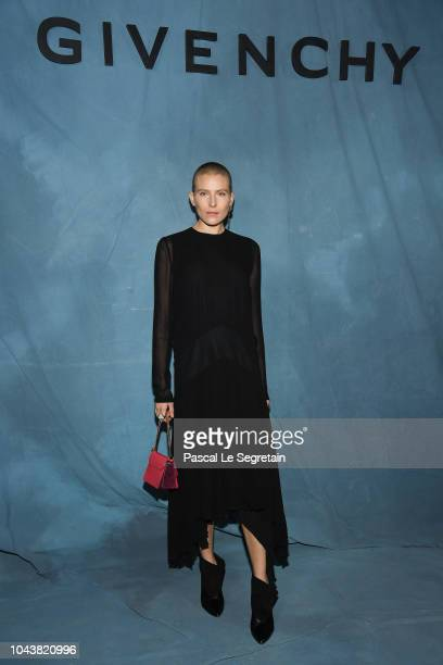Dree Hemingway attends the Givenchy show as part of the Paris Fashion Week Womenswear Spring/Summer 2019 on September 30 2018 in Paris France