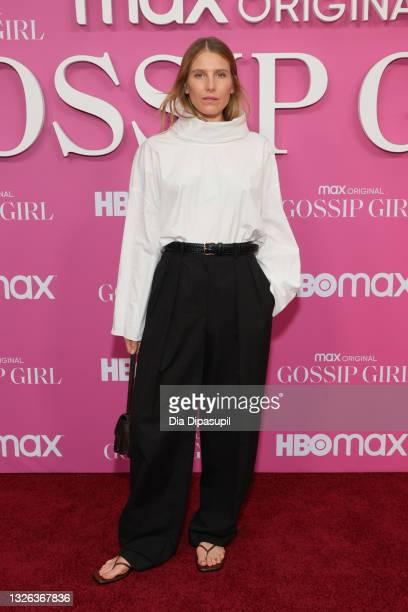 "Dree Hemingway attends the ""Gossip Girl"" New York Premiere at Spring Studios on June 30, 2021 in New York City."