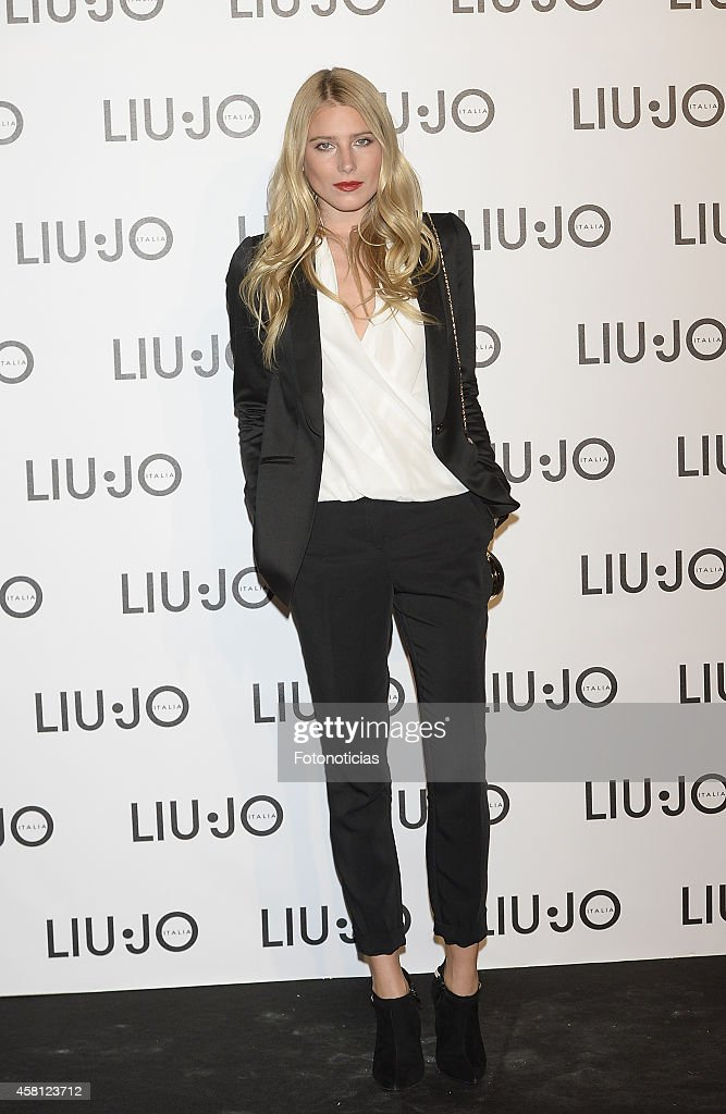 'Liu Jo' Flagship Store Opening in Madrid