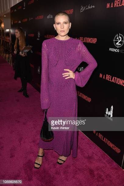 Dree Hemingway attends the premiere for In A Relationship presented by Vertical Entertainment at The London Hotel on October 30 2018 in West...