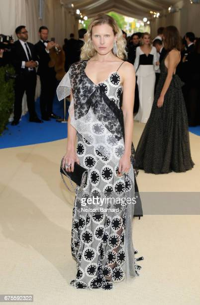 Dree Hemingway attends the 'Rei Kawakubo/Comme des Garcons Art Of The InBetween' Costume Institute Gala at Metropolitan Museum of Art on May 1 2017...