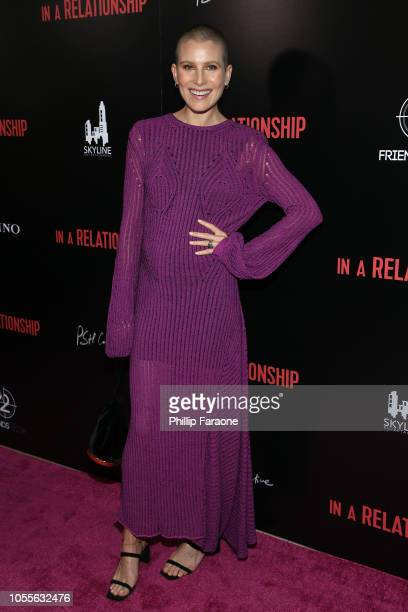 Dree Hemingway attends the Vertical Entertainment's In A Relationship Premiere at The London Hotel on October 30 2018 in West Hollywood California