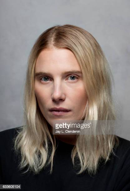 Dree Hemingway from the film LA Times is photographed at the 2017 Sundance Film Festival for Los Angeles Times on January 20 2017 in Park City Utah...