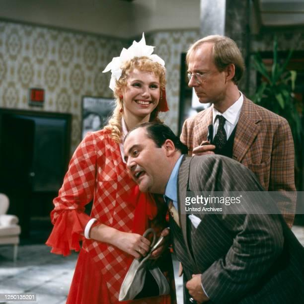 Drei gegen Hollywood, Fernsehfilm, Deutschland 1982, Regie: Sigi Rothemund, Darsteller: Dolly Dollar, Lambert Hamel, Hans Peter Korff.