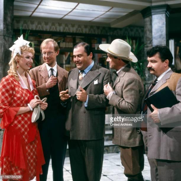 Drei gegen Hollywood, Fernsehfilm, Deutschland 1982, Regie: Sigi Rothemund, Darsteller: Dolly Dollar, Hans Peter Korff, Lambert Hamel, Till Erwig,...