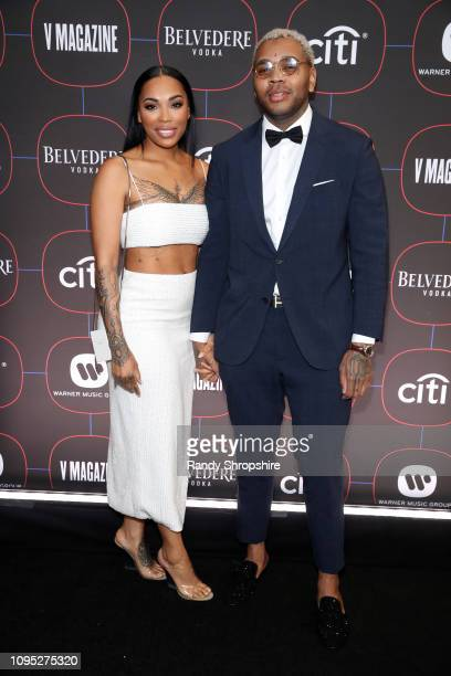 Dreka Gates and Kevin Gates attend the Warner Music PreGrammy Party at the NoMad Hotel on February 7 2019 in Los Angeles California