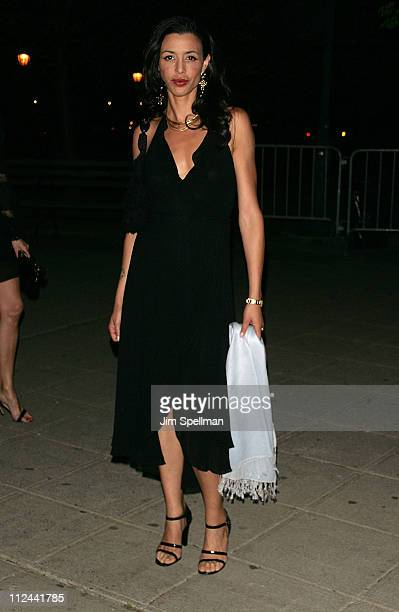 Drena De Niro arrives at the 7th Annual Tribeca Film Festival Vanity Fair Party at the State Supreme Courthouse on April 22 2008 in New York City New...