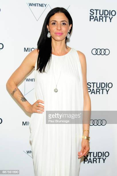 Drena De Niro attends The Whitney Museum's Annual Studio Party at The Whitney Museum of American Art on May 23 2017 in New York City