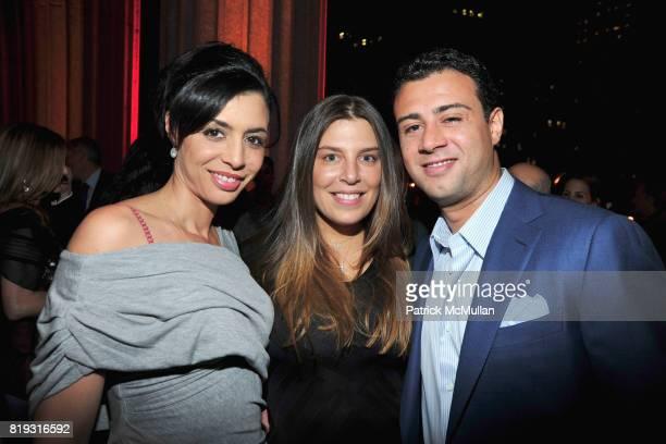 Drena De Niro Claudine DeMatos and Raphael De Niro attend VANITY FAIR TRIBECA FILM FESTIVAL Opening Night Dinner Hosted by ROBERT DE NIRO GRAYDON...