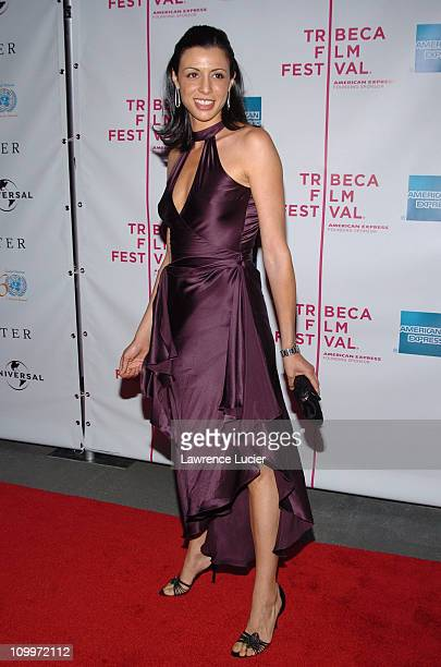 Drena De Niro during 4th Annual Tribeca Film Festival The Interpreter Premiere Arrivals at Ziegfeld Theater in New York City New York United States