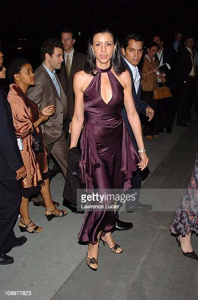 Drena De Niro during 4th Annual Tribeca Film Festival The Interpreter Premiere After Party Arrivals at The Museum of Modern Art in New York City New...