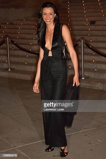 Drena De Niro during 5th Annual Tribeca Film Festival Vanity Fair Party Arrivals at New York State Supreme Court in New York City New York United...