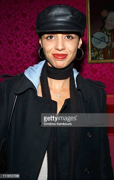 Drena De Niro during Party for Kenny Scharf's New Cartoon The Groovenians at Lucky Cheng's Restaurant in New York City New York United States