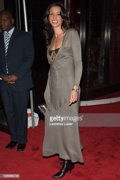 Drena De Niro during United 93 New York Premiere Arrivals at Ziegfeld Theater in New York City New York United States