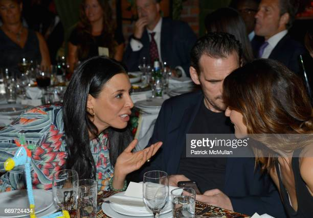 Drena De Niro Matt Dillon and Roberta Mastromichele attend The Turtle Conservancy's 4th Annual Turtle Ball at The Bowery Hotel on April 17 2017 in...