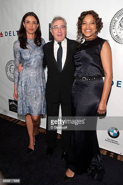 Drena De Niro Robert De Niro and Grace Hightower attend the Friars Foundation Gala honoring Robert De Niro and Carlos Slim at The Waldorf=Astoria on...