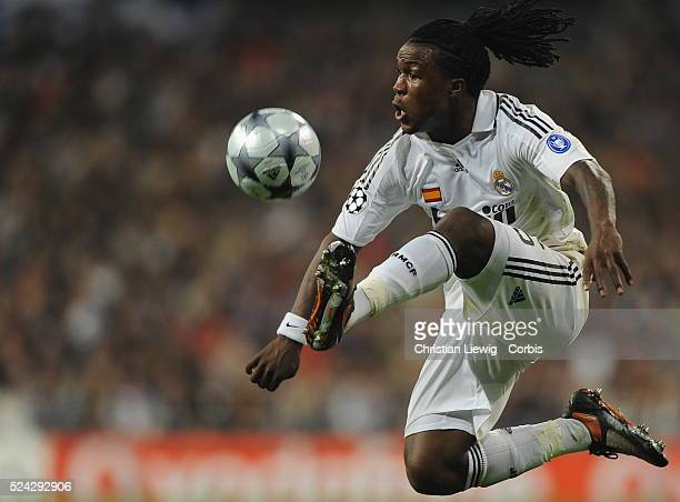 Drenthe during the 20082009 UEFA Champions League match between Real Madrid and Juventus Turin | Location Madrid Spain