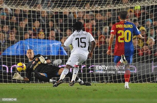 Drenthe during the Spanish Liga soccer match between FC Barcelona vs Real Madrid | Location Barcelona