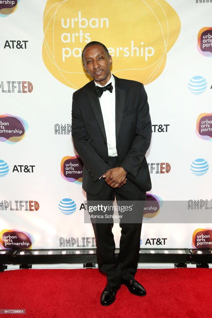 Dres attends the Urban Arts Partnership's AmplifiED Gala at The Ziegfeld Ballroom on April 16, 2018 in New York City.