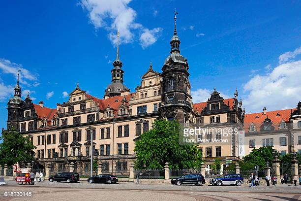 Dresden, Castle at Theaterplatz