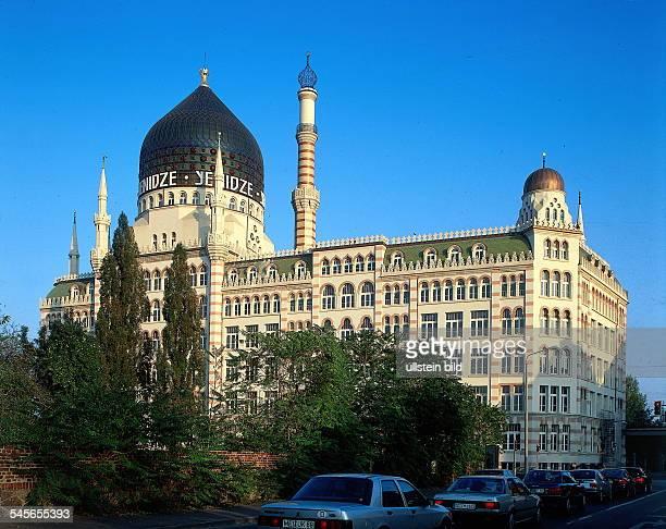 Dresden: Das im maurischen Stil erbaute Dresdner Tabakkontor ` Yenidze `- 1997