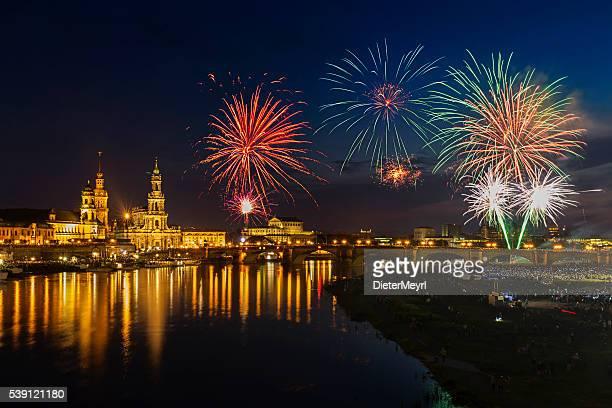 Dresden Feuerwerk