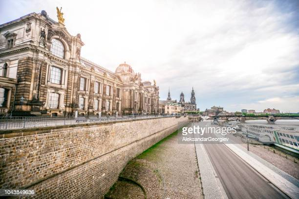 dresden is love - saxony stock pictures, royalty-free photos & images
