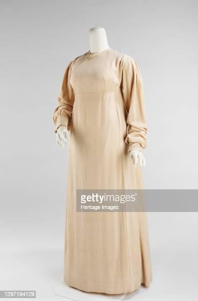 Dress, American, 1810-15. Artist Unknown.