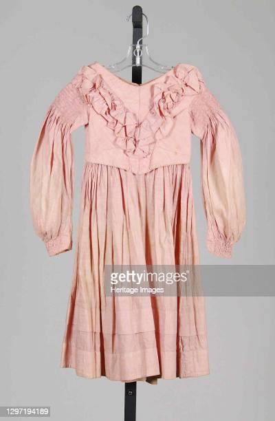 Dress, American, 1837-39. Artist Unknown.