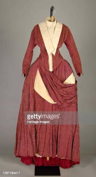 Dress, American, circa 1885. Artist Catherine Donovan.
