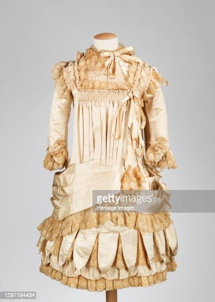 Dress, American, circa 1885. Artist Unknown.