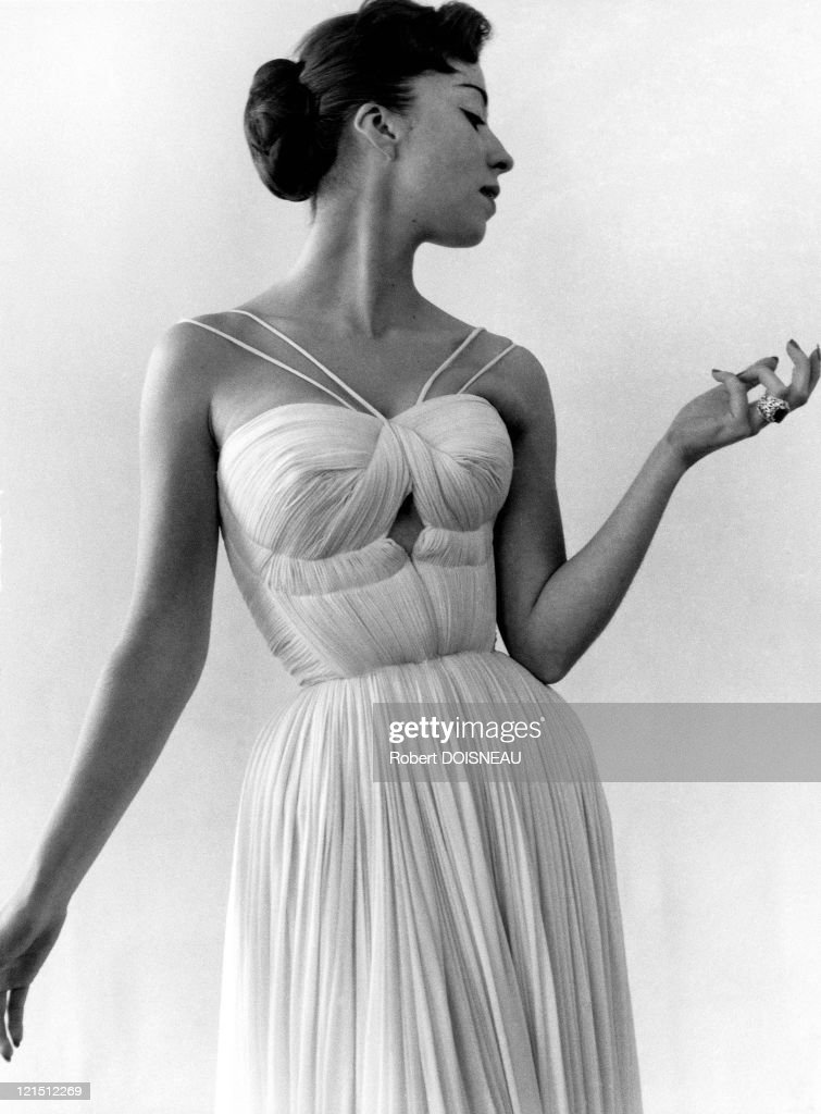 Dress By Gres, 1955
