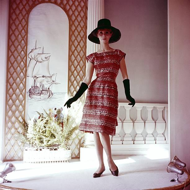 Antilles Dress Of Carven In 1961