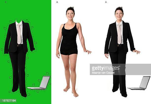 Dress her up, Businesswoman (pos II)