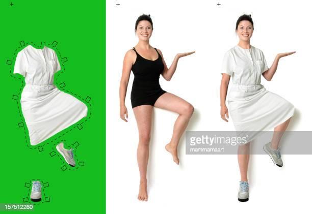 Vestido dela, enfermeiro
