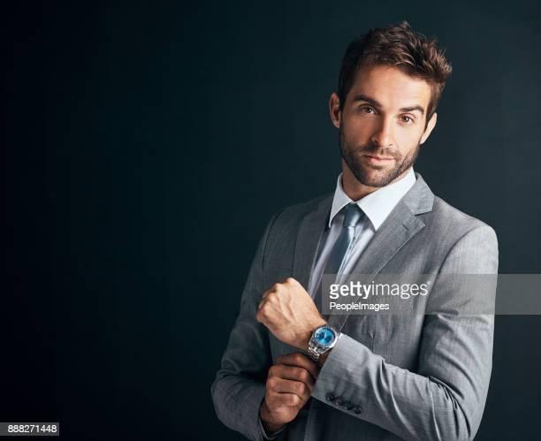 dress like you mean business - formal portrait imagens e fotografias de stock