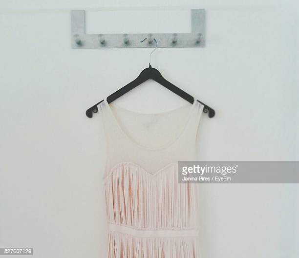 Dress On Coat Hanger