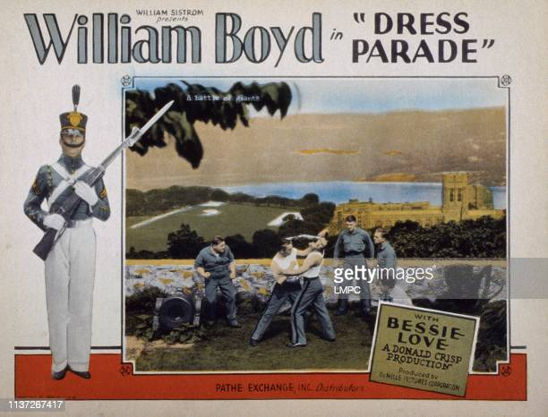 Dress Parade lobbycard Bessie Love William Boyd 1927