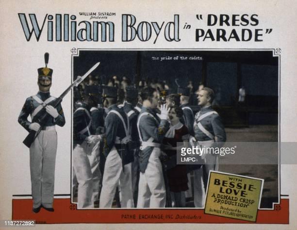 Dress Parade lobbycard Hugh Allan Bessie Love William Boyd 1927