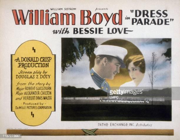 Dress Parade lobbycard William Boyd Bessie Love 1927