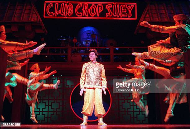 Dress rehearsal of the musical Flower Drum Song at the Mark Taper Forum Pic shows Tzi Ma as Wang in the act Chop Suey