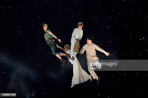 Allison Williams as Peter Pan Taylor Louderman as Wendy Darling John Allyn as Michael Darling Jake Lucas as John Darling