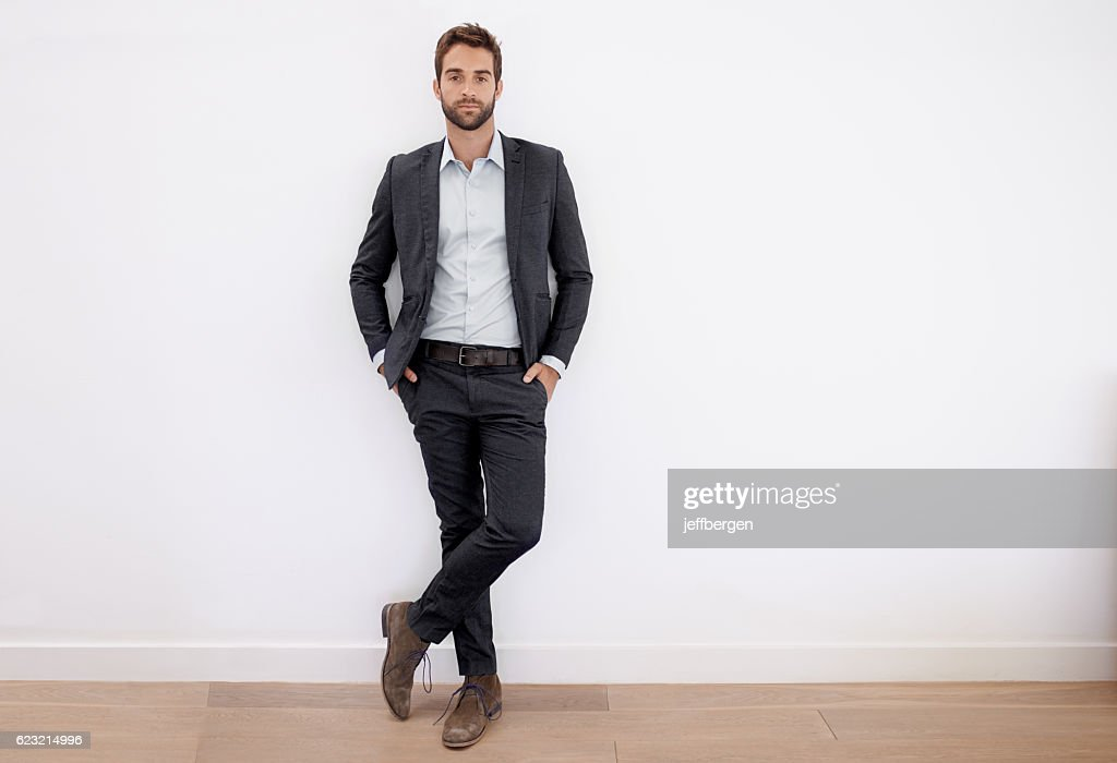 Dressed in his business best : Stock Photo