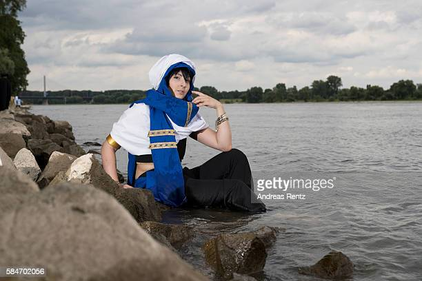 A dressedup cosplayer attends the annual AnimagiC anime convention on July 30 2016 in Bonn Germany The AnimagiC is a German annual anime convention...