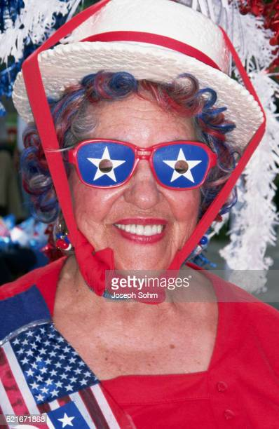 dressed-up delegate at 1996 republican national convention - republican national convention stock pictures, royalty-free photos & images